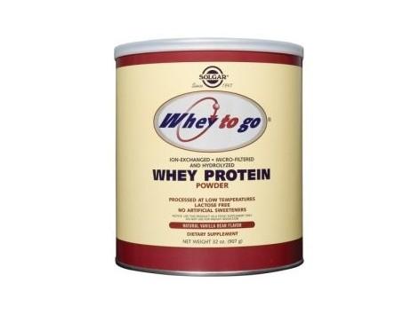 """Protein Powder Solgar """"Whey to go"""" Vanilla 340g."""