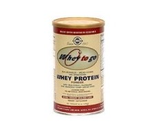 "Protein Powder Solgar ""Whey to go"" Chocolate 1162g."