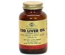 Solgar Aceite de higado de bacalao 100 cápsulas