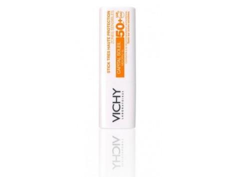 Vichy Capital Soleil Barra Ultraprotección Zonas Sensibles IP50+