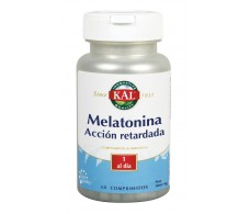 Kal Melatonina 1.9mg acción retardada 60 comprimidos.