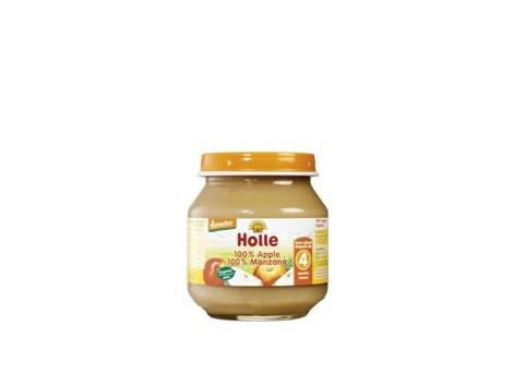 Holle mini potito de Manzana 100% 125g