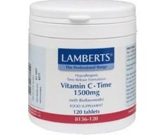 Lamberts Vitamina C 1500 mg Bioflavonoides de Cítricos 120 Table