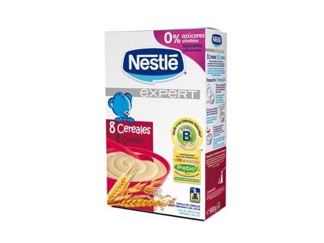 Nestle Expert 8 Cereales 500 gramos.