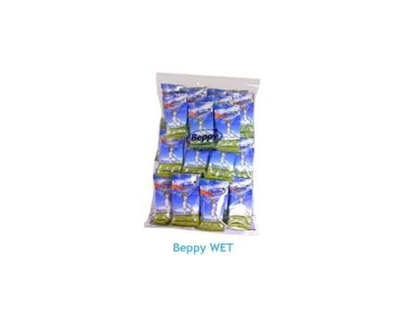 Beppy Wet Esponja Vaginal Menstrual con lubrificante 10 unidades