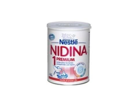 Nidina 1 premium leche infantil 900 gr.