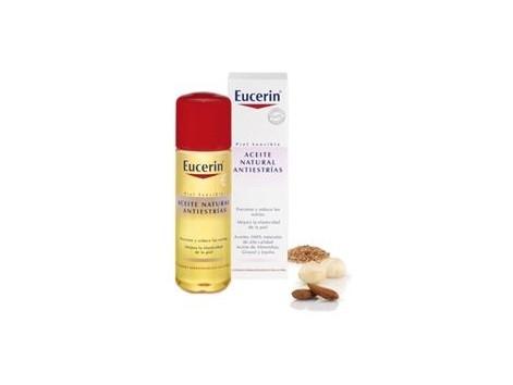Eucerin Piel Sensible Aceite Natural Antiestrías 125ml.