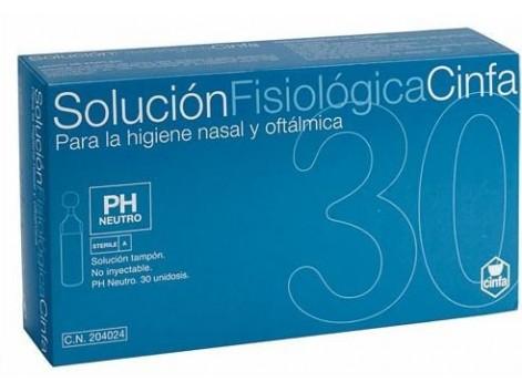 Cinfa Solución fisiológica 30 unidosis.