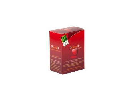 Quinol 10 (100mg de Ubiquinol) Caja con 60 perlas. 100% Natural.