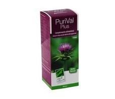 PuriVal Plus Frasco de 200 ml. Sirope. 100% Natural.