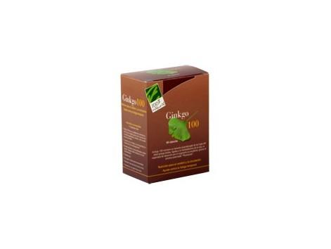 Ginkgo 100, 60 capsulas. 100% Natural.