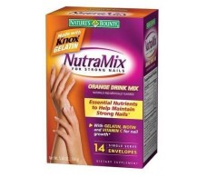 Nature's Bounty Nutramix For Strong Nails Tabs, Orange, 14 Packe