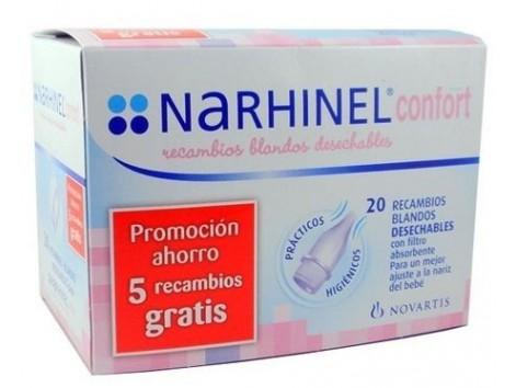 Narhinel Confort 20 Recambios Blandos oferta.