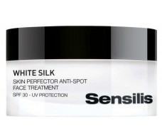 Sensilis White silk Crema Spf30, Antimanchas 30ml.