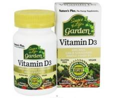 Natures Plus Source Of Life Garden Vitamina D3 60 Capsulas.