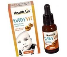 Health Aid BabyVit liquid drops. 25ml.