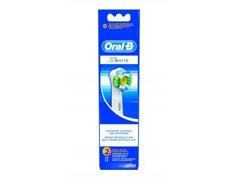 Oral-B cabezal de recambio 3D White.