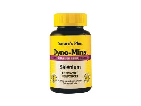Nature's Plus Dyno Mins Selenium 60 tablets