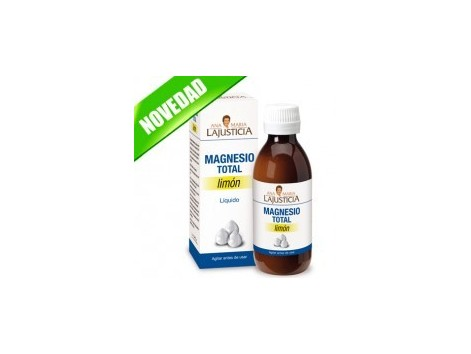 Ana Maria Lajusticia Total Magnesium 200ml Lemon Flavour