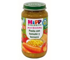 Hipp Menu Pasta with tomato and beef 250gr