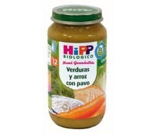 Hipp Menu Vegetables and Rice 250g turkey