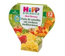 Menu Hipp Star Pasta with Mediterranean vegetables 260gr