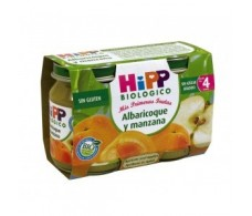 Potito Hipp Apricot and Apple 2x125gr