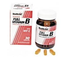 Full Health Aid Vitamin B & C. 30 tablets. Health Aid
