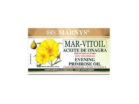 Marny's Evening Primrose Oil 500mg 60 Vitoil Sea pearls