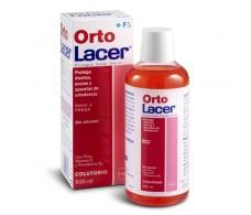 OrtoLacer Lacer orthodontic Mouthwash 500 ml strawberry