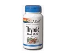 Solaray Thyroid Blend SP-26 100 Capsules