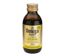 Solgar Omega Advanced Blend 2:1:1 150ml lemon flavor.