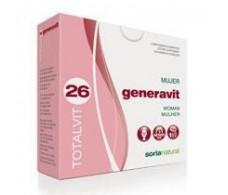 Soria Natural Totalvit 26 Generavit 28 tablets