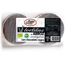 RICE CAKES Barn BLACK CHOCOLATE BIO (6 UNITS) 100 g