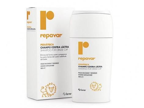 Pediatric Repavar cradle cap shampoo 200 ml