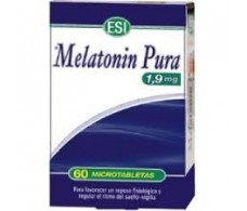 Esi Melatonin Pure 1.9 mg 60 microtablets
