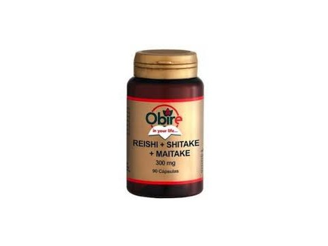 Obire Reishi, Shitake , Maitake 90 capsules