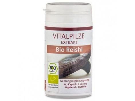 Bio Reishi pilze Wolhrab 60 capsules