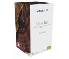 Hifas de Terra Mico Rei (reishi) 62 capsules