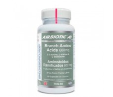 Lamberts Plus Airbiotic Aminoácidos Ramificados 600 mg 60 capsules