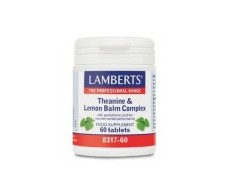 Lamberts Theanine Complex and Lemon Balm 60 tablets