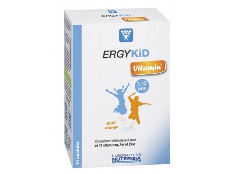 Nutergi ERGYKID vitamin (ex ERGYKID vitality) 14 envelopes