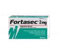 Fortasec 2 mg hard capsules 20