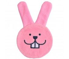 MAM Oral Care Rabbit Pink Clean baby's mouth area