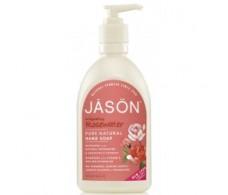 Jason Satin Soap hand soap rose water 473 ml