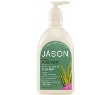 Jason Satin Soap hand soap aloe vera 500ml water