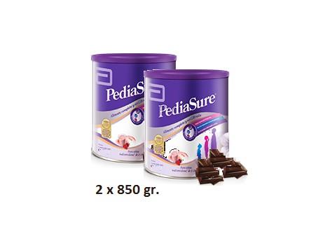 Pediasure Powder Chocolate flavor 2 x 850 grams