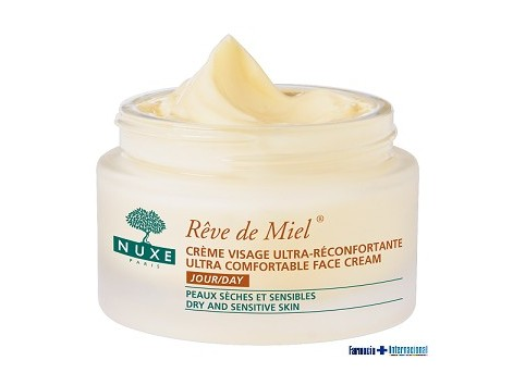Nuxe Reve de Miel Cream 50ml ultra-comforting face.