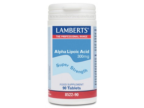 Lamberts Alpha Lipoic Acid 300mg. 90 tablets. Lamberts