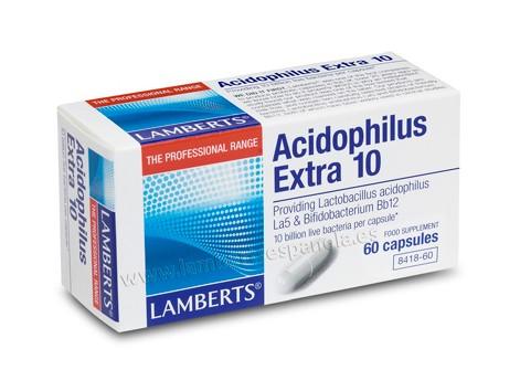 Lamberts Acidophilus 60 caps 10 extra.